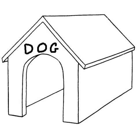 disegno  cuccia del cane da colorare  bambini