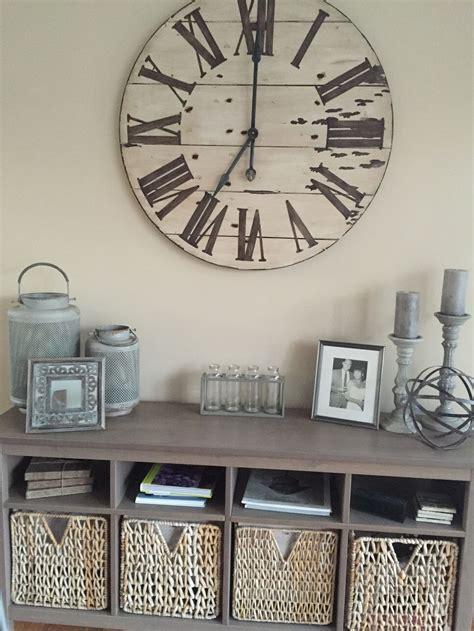 farmhouse wall clocks ideas  pinterest mco
