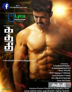 Tamil movie Kaththi - Telugu Dubbing work is finished ...