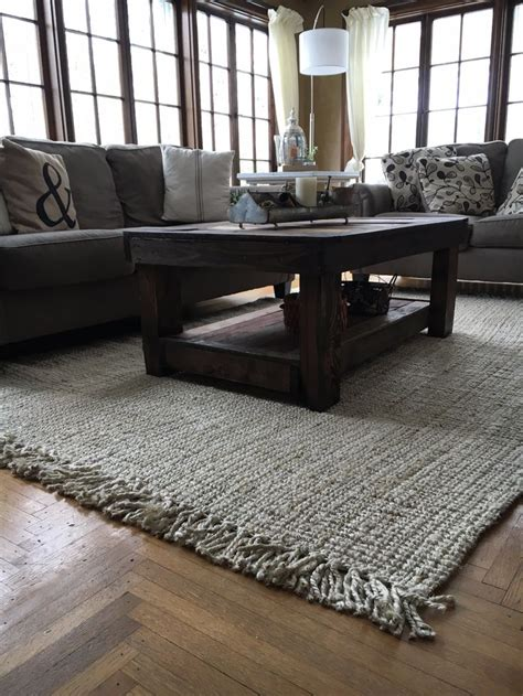 lovely sun room  rugs usas maui chunky loop jute