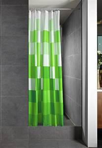 Duschvorhang Für Fenster : gr n wei duschvorhang duschabtrennung badewannenvorhang badevorhang badvorhang ebay ~ Markanthonyermac.com Haus und Dekorationen