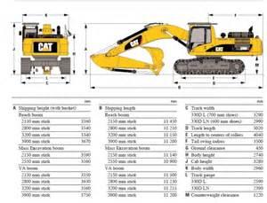 cat excavator sizes caterpillar 330 cl tracked excavator ex