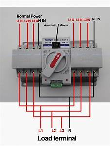 Wire Diagram Ats Wiring For Stand Generator Manual Auto With Within Automatic Transfer Switch