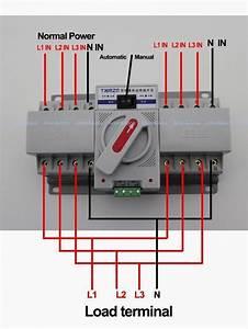 Wiring Diagram Auto Transfer Switch