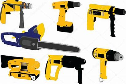 Tools Electric Clipart Vector Illustration Clip Power