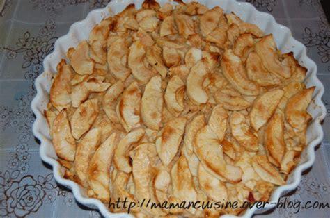 tarte pomme sans pate tarte aux pommes sans p 226 te quand les mamans cuisinent