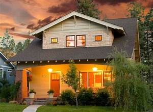 Craftsman Style House Plans - Anatomy and Exterior