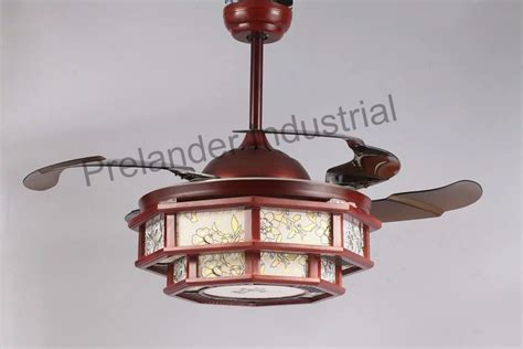 ceiling fans with hidden blades chinese art ceiling fan hidden blades ceiling fan