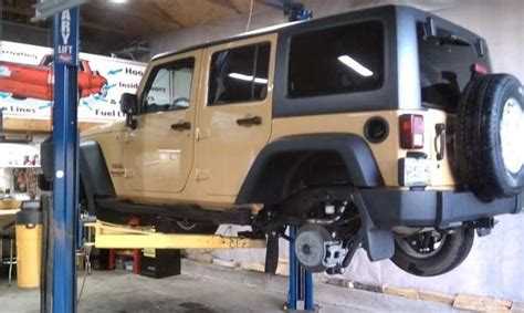Undercoating A Jeep Wrangler