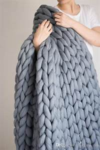 Chunky Knit Decke : chunky knit blanket chunky knit throw arm knitted blanket chunky knit giant blanket merino ~ Whattoseeinmadrid.com Haus und Dekorationen