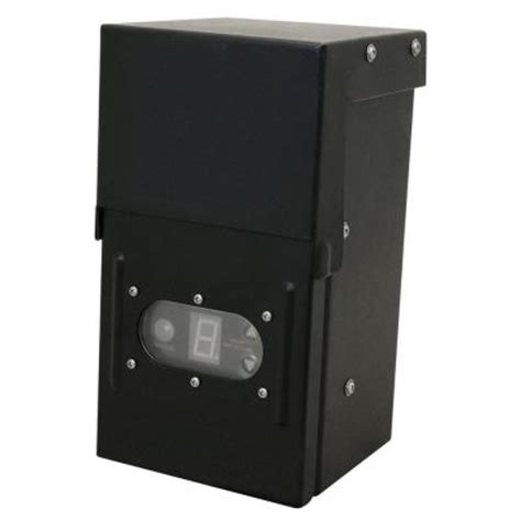 hton bay 12 volt low voltage 200 watt transformer