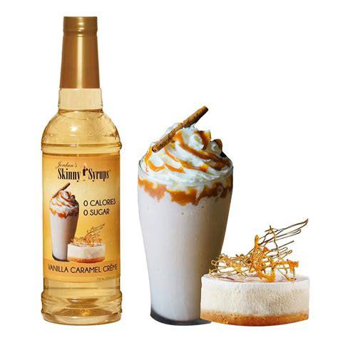 Torani sugar free vanilla syrup: Jordan's Skinny Syrups | Sugar Free Vanilla Caramel Crème Coffee Syrup | 653341403766 | eBay