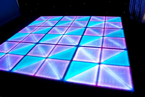 illuminated led dance floor hire feel good