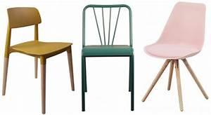 Chaise Scandinave Verte : osez les chaises de tables color es joli place ~ Teatrodelosmanantiales.com Idées de Décoration