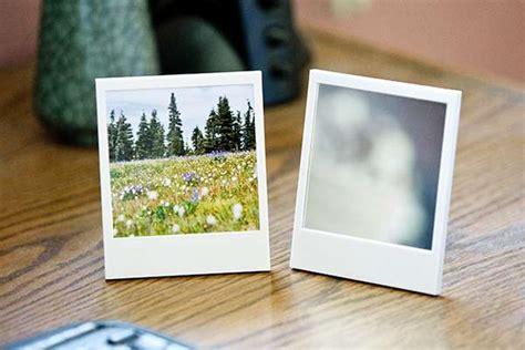 nostalgic picture displays polaroid picture frame  mirror