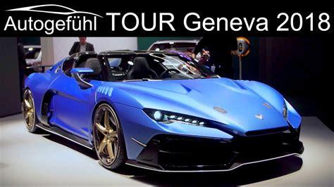Geneva Motor Show 2018 Highlights Review Tour Upcoming New