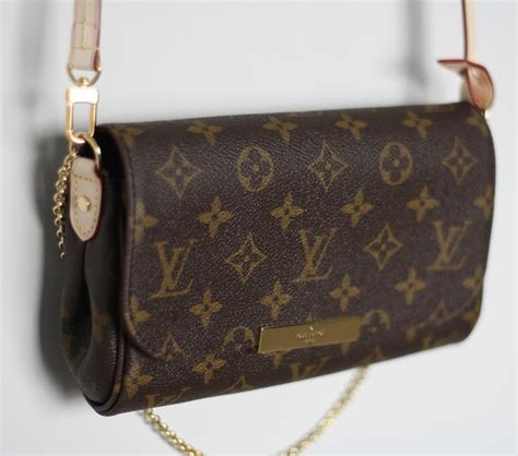 louis vuitton favorite clutch  leather strap bragmybag
