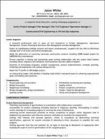 Free Resume For Construction Project Manager by Resume Construction Project Manager Resume 2016