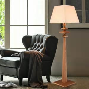 Wood Floor Lamps for Living Room