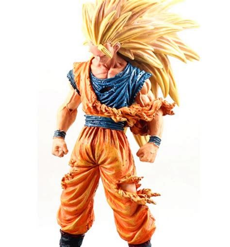 Dragon ball z merchandise was a success prior to its peak american interest, with more than $3 billion in sales from 1996 to 2000. Anime Dragon Ball Z Super Saiyan Son Goku 3 PVC Action ...