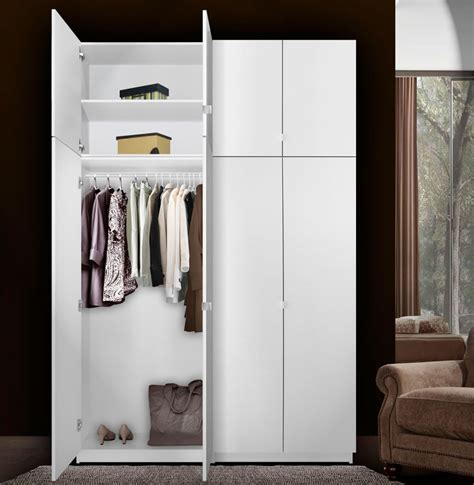 alta  door wardrobe closet basic package extra tall