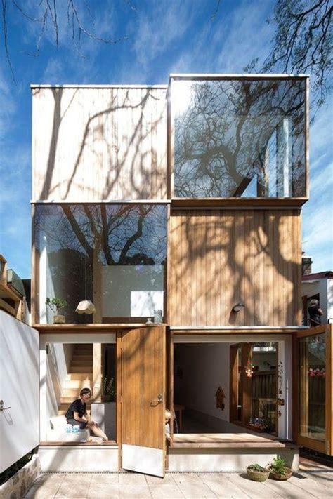 fachadas de casas estreitas inspiradoras