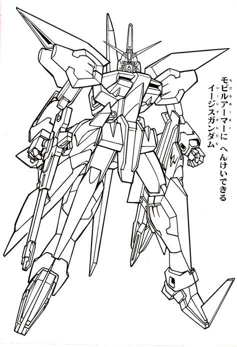Coloring Gundam gundam astray coloring page coloring pages