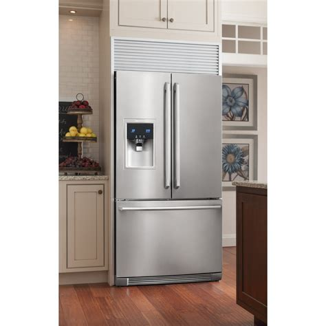 ewbsks electrolux  cu ft french door refrigerator wave touch