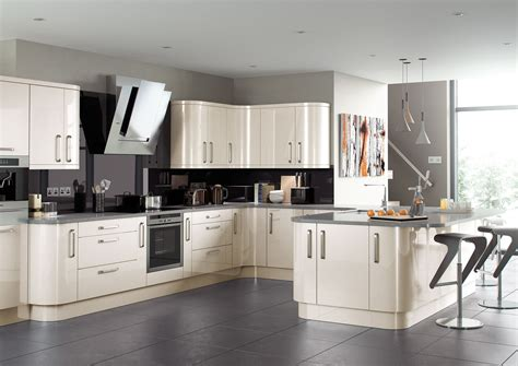 kitchen cabinets with bulkhead complete high gloss kitchen units new colours oak white 6465