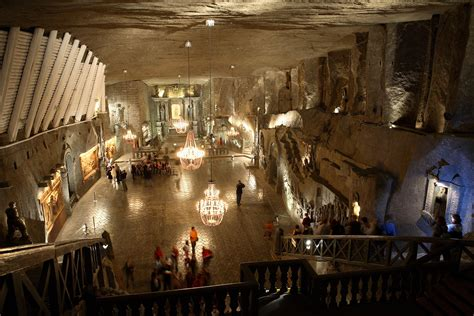 wieliczka salt    incredible polish underground