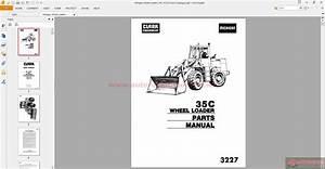 Michigan Wheel Loaders 35c  3227 Parts Catalogue