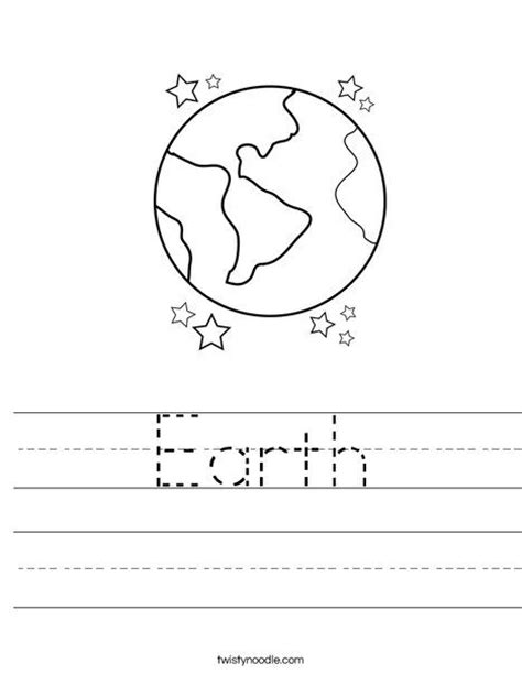 15 best images of earth day worksheets for preschoolers