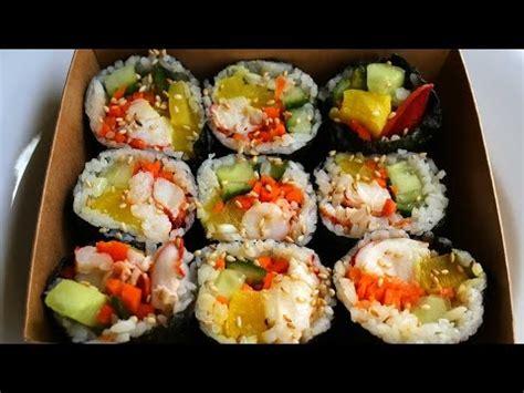 Lobster Gimbap (kimbap랍스터 김밥