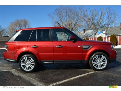 red land rover rimini red 2010 land rover range rover sport hse exterior