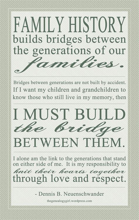 Quotes About Family Histories