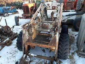 Salvaged Bobcat 610 Skid Steer Loader For Used Parts