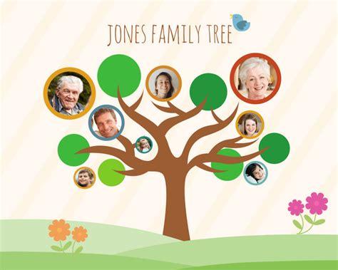 family tree maker design  custom family tree