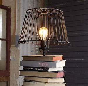 Comment Fabriquer Une Lampe : comment fabriquer une lampe avec des livres d ~ Medecine-chirurgie-esthetiques.com Avis de Voitures