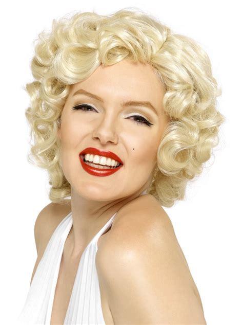 Perruque blonde Marilyn Monroe : Perruque blonde pas cher