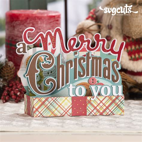 You can purchase a commercial use license here.) Christmas Box Cards SVG Kit | SVGCuts.com Blog