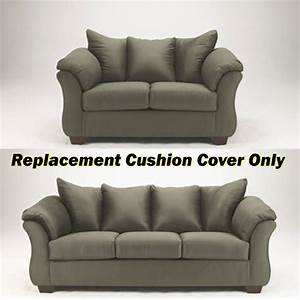 ashleyr darcy replacement cushion cover only 7500338 or With ashley furniture replacement seat covers