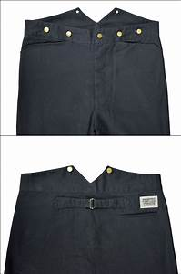 Black Suspender Pants By Frontier Classics