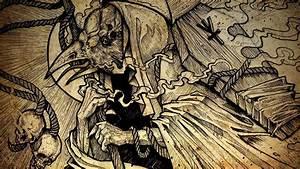 DEATH METAL black heavy dark horror evil poster reaper ...