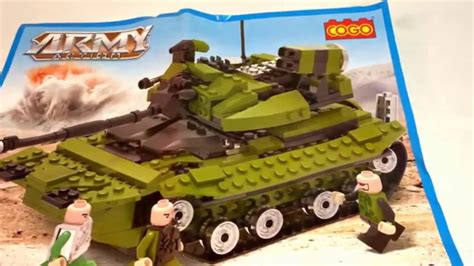 cogo army 3312 tank review package 1 of 3