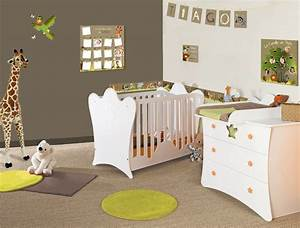 amenager la chambre de bebe quelle ambiance With exemple de decoration de jardin 4 deco chambre bebe jungle