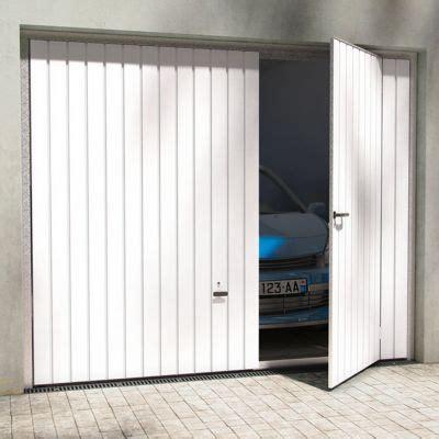 porte de garage basculante avila blanche    cm