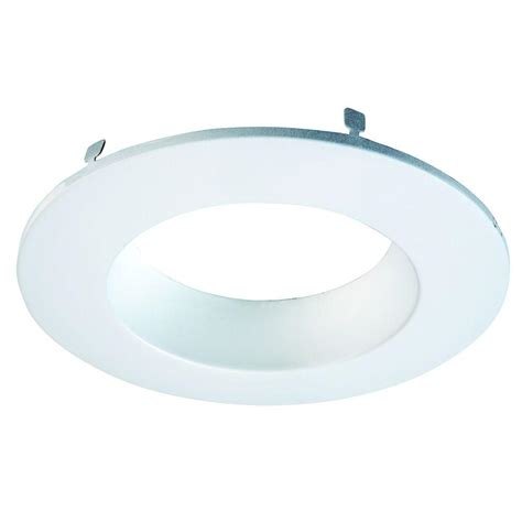halo light trim rings halo 6 in white recessed lighting coilex baffle and trim