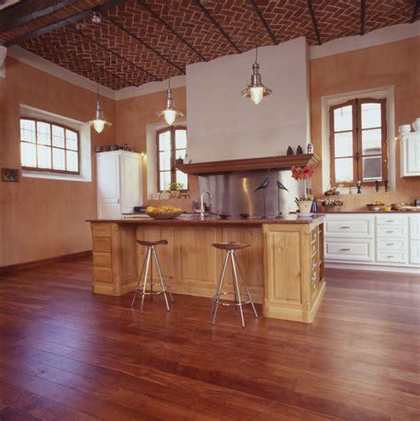 cuisine plancher bois parquet pour la cuisine nos conseils