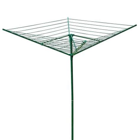 greenway collapsible clothesline gclfa  home depot
