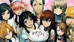 SteinsGate CG Art Zerochan Anime Image Board